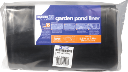 Hozelock pond liner