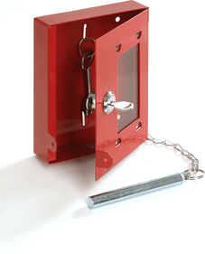 The Raat Emergency key box