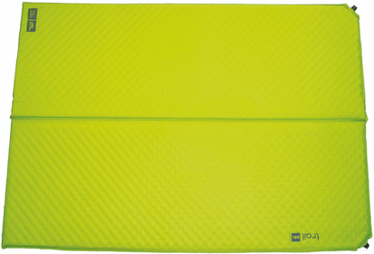 Highlander Trail self-inflating double sleeping mat