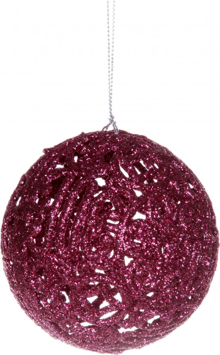 Glitter Christmas bauble