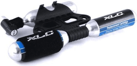XLC C02 Cartridge Pump With Bike Mount And 3 X Co2 Cartridge's