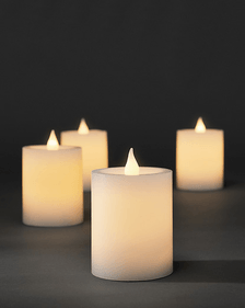 Konstsmide LED wax candles