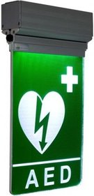 AED Pictogram + led verlichting