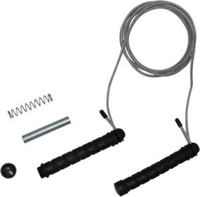 Tunturi Steel Jump rope with weights