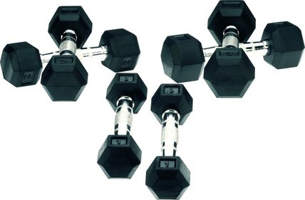 Marcy Rubber Dumbbells