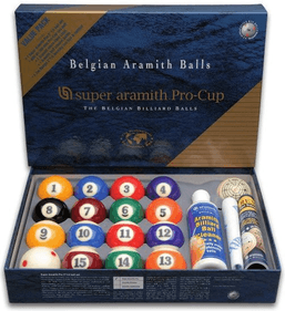 Aramith Value Pack poolballen