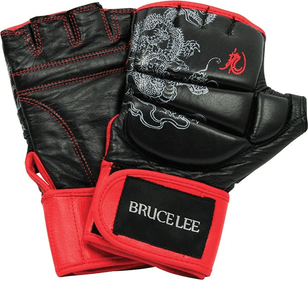 Bruce Lee Dragon Deluxe MMA Grappling handschoenen