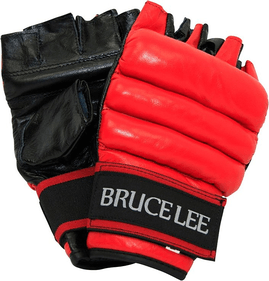 Bruce Lee All-round boxing gloves open fingers