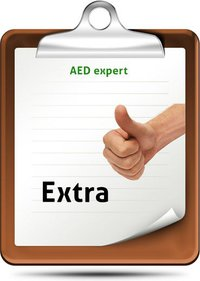 AED Servicecontract Extra