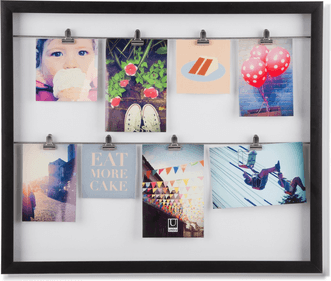 Umbra Clipline collage photo frame