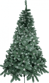 Smoky Cone Christmas tree 180 cm