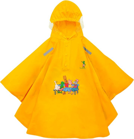 Willex Kinder Regen Poncho Frog and Friends
