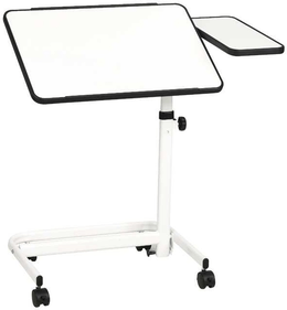 Schulte Bed table with side plate
