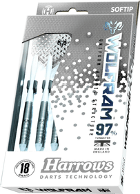 Harrows Wolfram 97% Tungsten Steeltip dartpijlenset