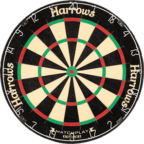 Harrows Pro Matchplay Bristle dartskive