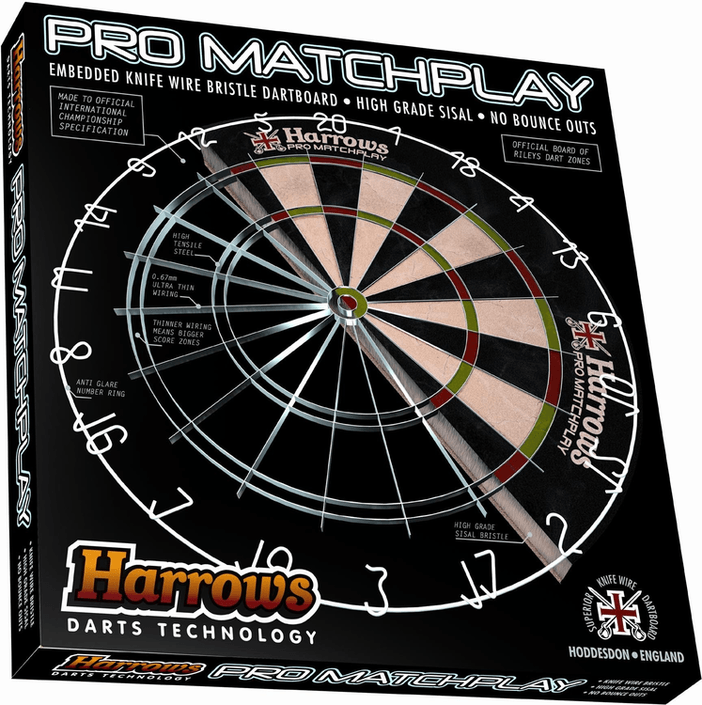 Harrows Pro Matchplay Dartboard