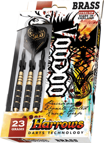 Harrows Voodoo Steeltip dartpijlenset