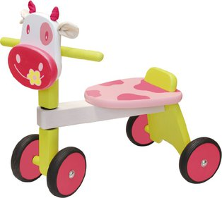 I'm Toy Pink Cow balance bike