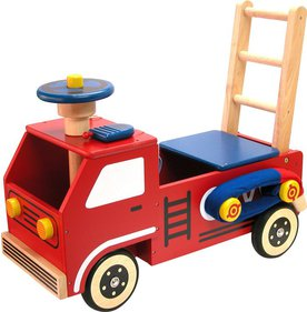I'm Toy Fire brigade push trolley