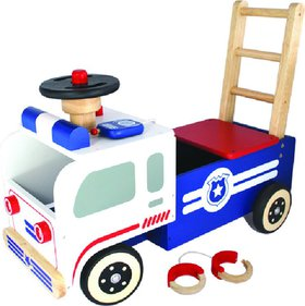 I'm Toy Police push cart