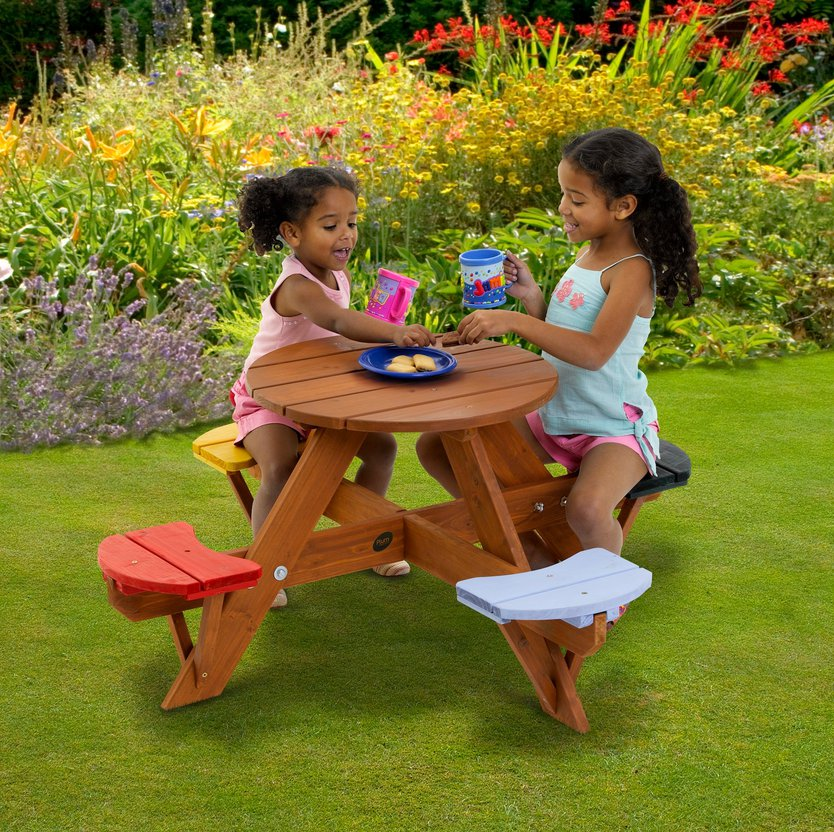 Plum Children's Garden picknicktafel