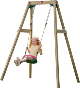 Plum Wooden Single Swing Set schommeltoestel