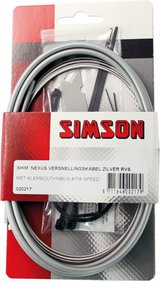 Simson acceler cable Nexus stainless steel