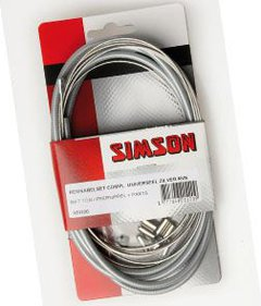 Simson brake cable uni cpl stainless steel