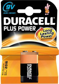 Duracell Batt Plus Power 9V