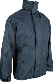 Highlander Highlander Tempest Waterproof Jacket - Black, X-Large