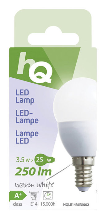 HQ mini globe E14 led-lamp