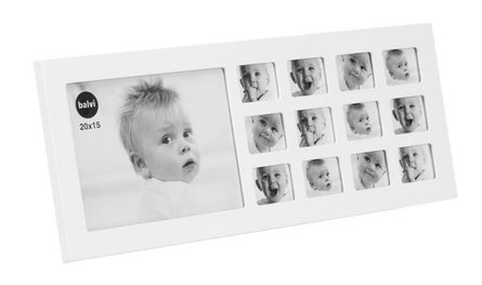 Balvi My First Year Small baby photo frame