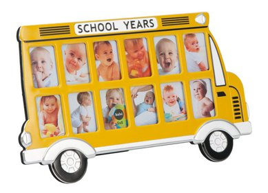 Balvi - Frame School Bus yellow