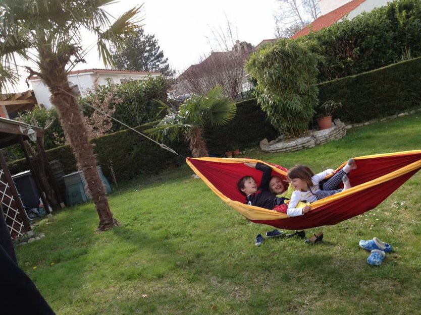 Ticket to the Moon kids hammock