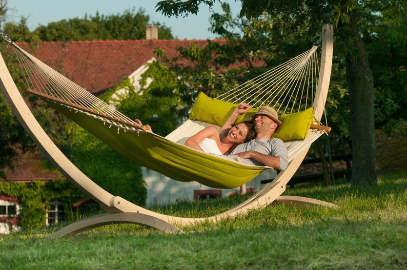 La Siesta Alabama Hammock with spreader bars