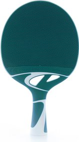 CORNILLEAU Tacteo 50 Composite Table Tennis Bat, Grey/Blue