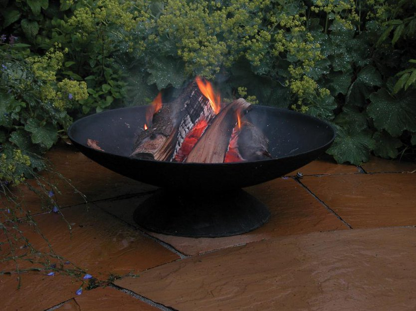 Esschert Design Fancy Flames Vuurschaal Robuust
