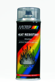 Motip heat resistant varnish clear 4033 400 ml