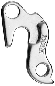 DERAD UNION TOAD HOOK GH068 ALM SILBER