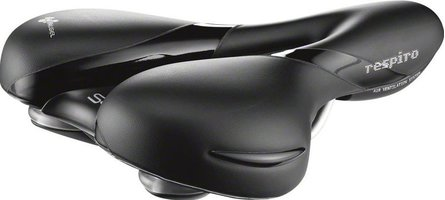 Selle Royal Respiro Soft Zwart moderate 5131