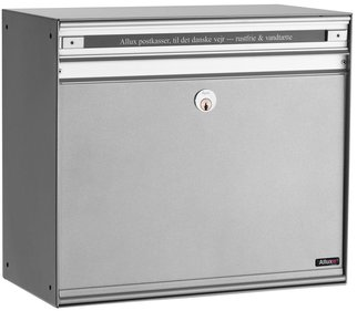 Allux SC200 Steel front letterbox