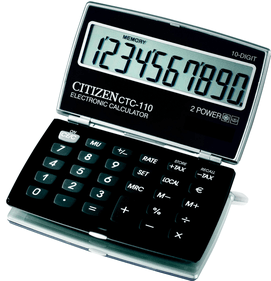 Citizen CTC-110 Traveller zakrekenmachine