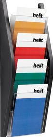 Helit Wall display 4xA5 folder rack