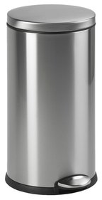 SimpleHuman Round Step Can 30 Liter RVS