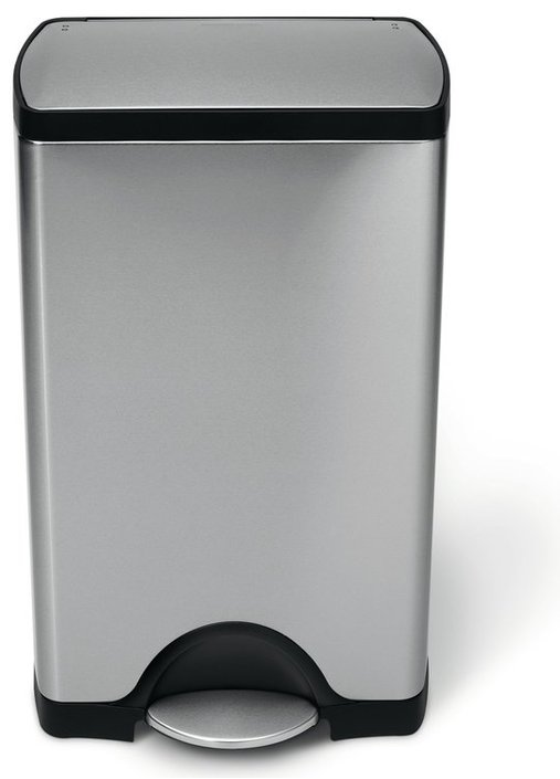 Simplehuman Rectangular 38 Liter stainless steel