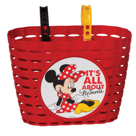 Widek Minnie Mouse fietsmand rood