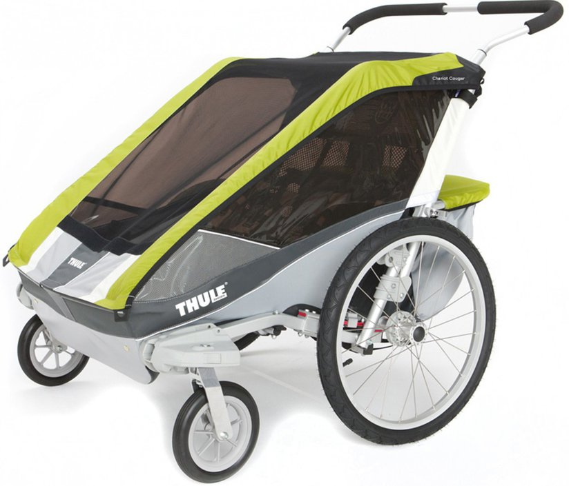 thule chariot cougar 2 fietskar kopen frank. Black Bedroom Furniture Sets. Home Design Ideas