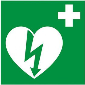 AED Logo Sticker