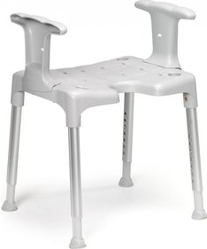 Etac Swift shower stool with armrest