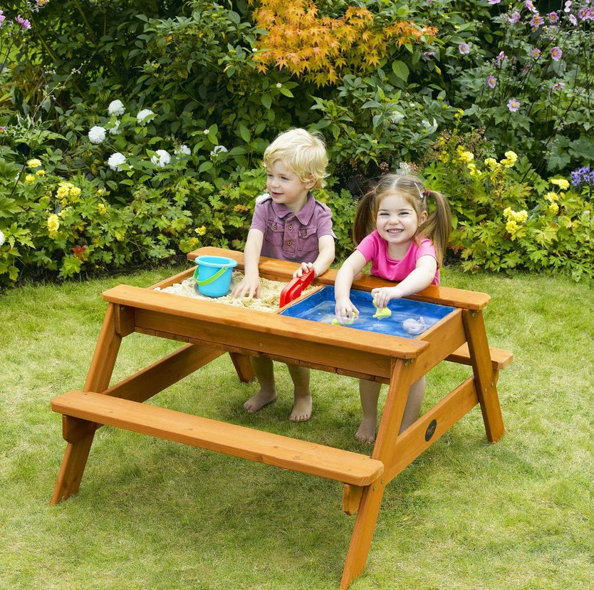 Plum Surfside Picnic Table Sand & Water